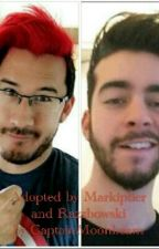 Adopted by Markiplier + Razzbowski by almightyspaceace