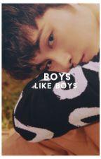 boys like boys ; jkook by -gwanky