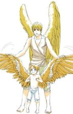 Hetalia Angel(and other fantasy characters) America x world ones hots by strawberrynebula