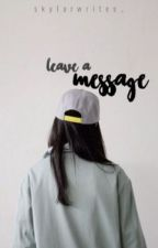 leave a message | CZ by annienkax