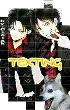 Texting || Ereri by BlaskiFox