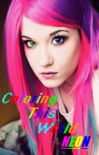 Coloring This World Neon [Completed] by IttyBittyMouse