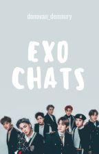 EXO CHATS {1} by StylesYouSwag29