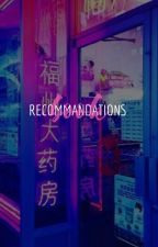 RECOMMANDATIONS BOOK | yoonmin by --yoonminplanet--