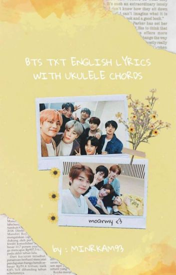 BTS ENGLISH LYRICS W/ UKULELE CHORDS