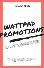Wattpad Promotions by Ms_Horrendous