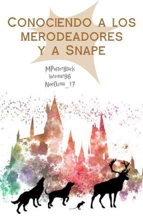 Conociendo a los Merodeadores y a Snape by MPotterBlack