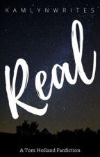 Real /|\ Tom Holland by kamlynwrites