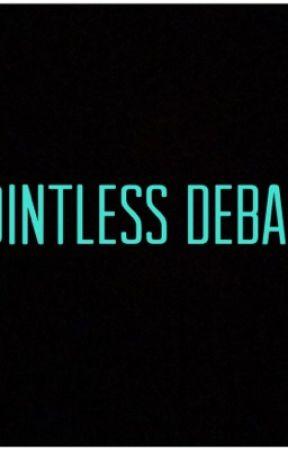 Pointless Debate by rooney_56