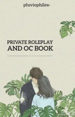 Private Roleplay ✮ OC book by -yoonaesi