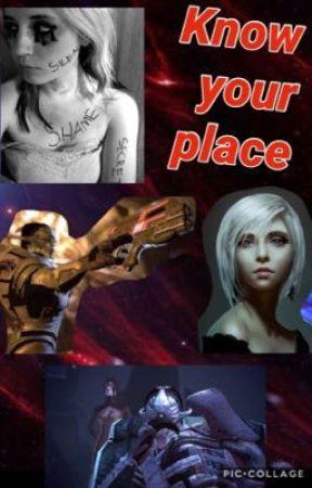 Know your place.. (Saren x OC) by Villainous-Victory