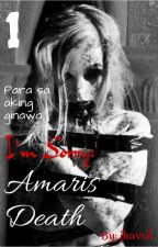 I'm Sorry: Amaris's Death by jhavril