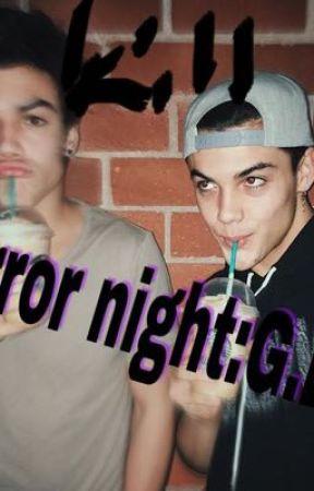 HORROR NIGHT:Grayson Dolan  by judesss99