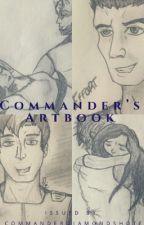 Commander's Art Book by CommanderDiamondShot