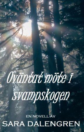 Oväntat möte i svampskogen by SaraDalengren