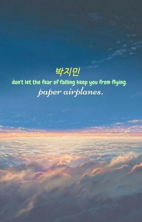 paper airplanes ~ jimin by bbychu2