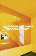"""""""Questionable"""" Media Of Gerard Way (Unholy Photos and GIFs) by -gaymikeyway"""