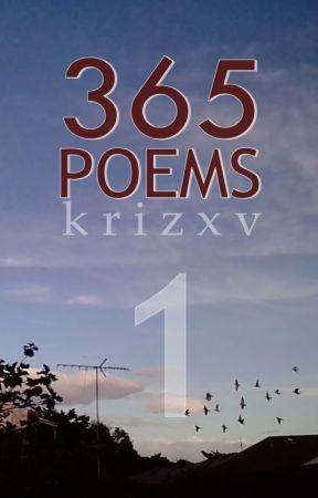 365 Poems by krizwaje