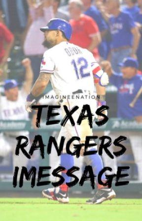 Texas Rangers iMessage by theaveragerangersfan
