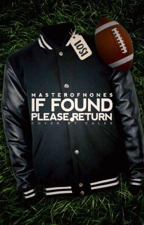 If Found, Please Return by masterofnones
