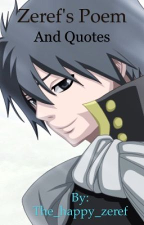Zeref's poems and quotes  by _Emperor
