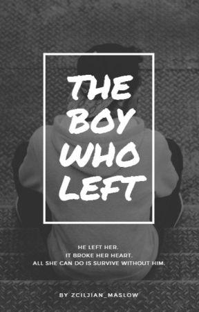 THE BOY WHO LEFT by Zciljian_maslow