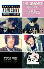 Emo Boyfriend Scenarios  by BeanaBugs
