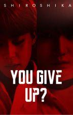 『You Give Up?//YoonMin』 by Shiroshika