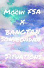Mochi FSA x BTS Situations by YummyKookies