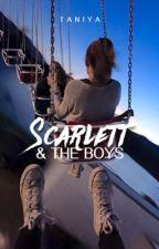 Scarlett and the boys by taniya13