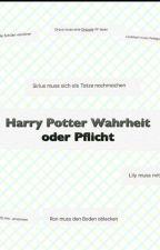 Harry Potter Wahrheit oder Pflicht  by drawaine