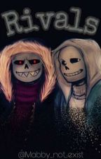 Rivals(Dos mundos#2) Sans X_____ (Underfell y Undertale).  by Mabby_not_exist