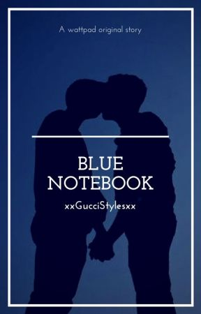 Blue Notebook // [h.s & n.h.] by xxGucciStylesxx