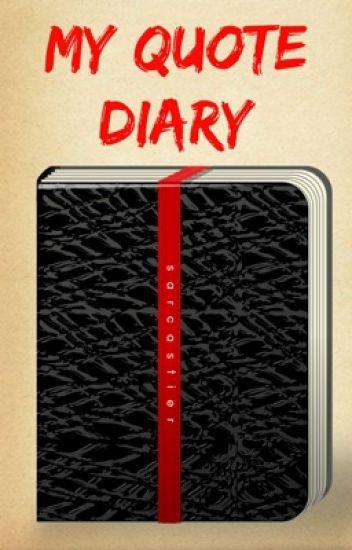 My Quote Diary - Khushi - Wattpad