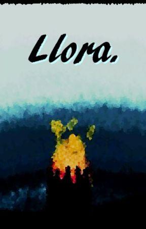 Llora. by mxgrxnx