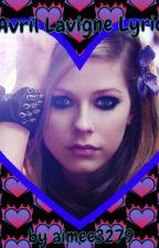 Avril lavigne lyrics by Pop_lover33