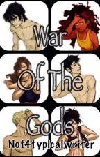 War Of The Gods (Percy Jackson Fan Fiction) Wattys2014 by not4typicalwriter