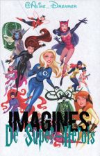 🌝 -Imagines de Super-Heróis -🌚 by Aline_Dreamer
