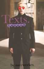 texts // drarry au by succweekes