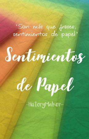 Sobres de Papel. by -HistoryMaker-