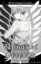 Wings of Freedom - Snk (Livaï X Oc) by BlackRaven-02