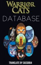 [All Warriors] Warrior Cats Database ITA by saraenrietti