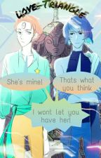 Love triangle[Male!pearl X Reader X Male!lapis] by Lazy-mad-hatter