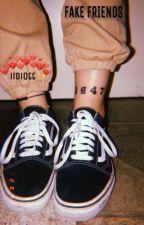 fake friends✨blake gray by iidiott