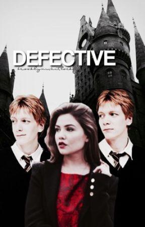 DEFECTIVE [george weasley] by brooklynwhitlock