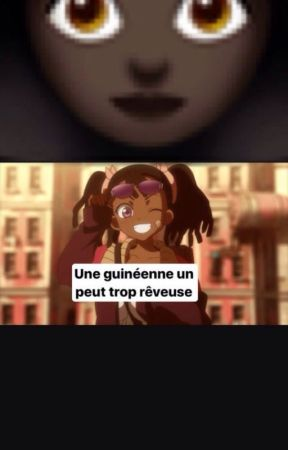 une guinéenne  un peux trop rêveuse by cleopatre-mariama