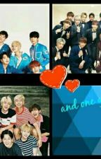 27 Boys and one girl by SEVENTEEN-BTS