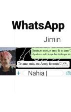 WhatsApp (Jimin y tu)  by Niacrazy