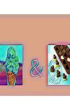 Coklat & Es Krim by Difastory_