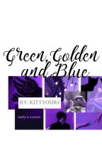 Green Golden And Blue by kittyours